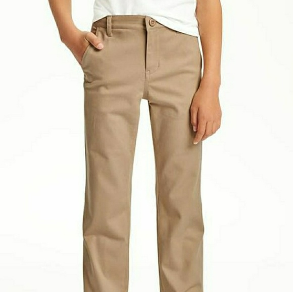 b0c3437d7b Two Pair Built-In Flex Uniform Straight Khakis. M_5a7f77163b160866657011a8.  Other Bottoms you may like. Boys pants